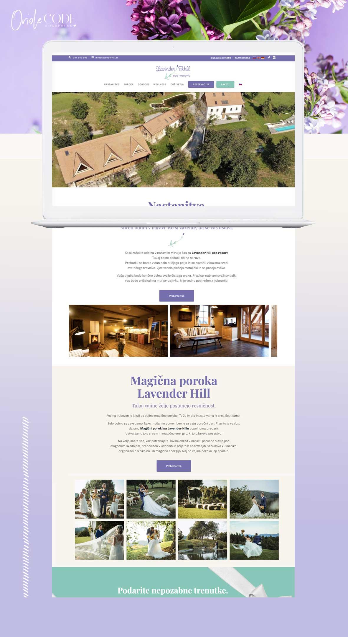 Lavender Hill - Oriole Code projekt